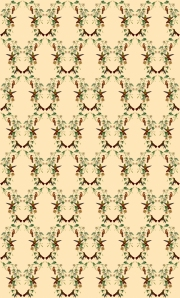 Swallows Pattern based on Gould's drawings